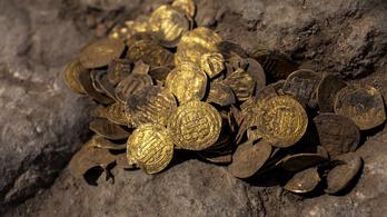 Több mint ezeréves iszlám aranyérméket találtak Izraelben
