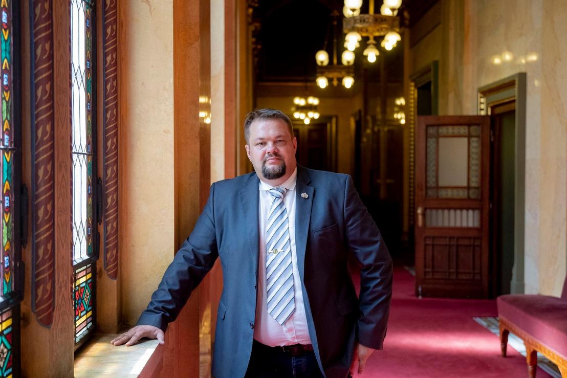 Bíró László a parlamentben 2020. augusztus 21-én