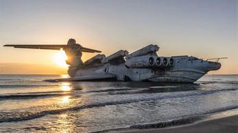 Kiállítási darab lesz az évtizedek óta álló szovjet repülő hajóból