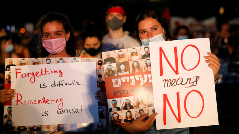 Sokkolta Izraelt egy 16 éves lány elleni csoportos nemi erőszak ügye