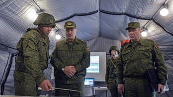 A legmagasabb készültségbe helyezik a belarusz hadsereg egyes egységeit