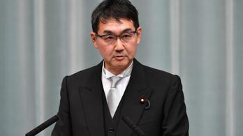Szavazatvásárlás miatt ítélhetik el a volt japán igazságügyi minisztert