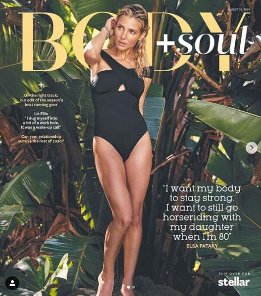 Elsa Pataky a Body + Soul augusztusi számának címlaplánya lett.