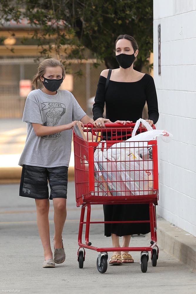 Bár Jolie három örökbe fogadott és három vér szerinti gyerekét általában nem mutogatja a nyilvánosság előtt, legutóbb Vivienne bátyjáról, Siloh-ról terjedt egy pletyka, mely szerint Jennifer Anistonnal fog dolgozni