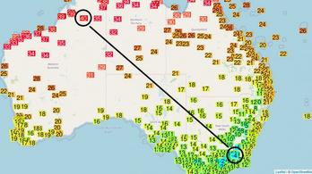 Megőrültek az évszakok Ausztráliában