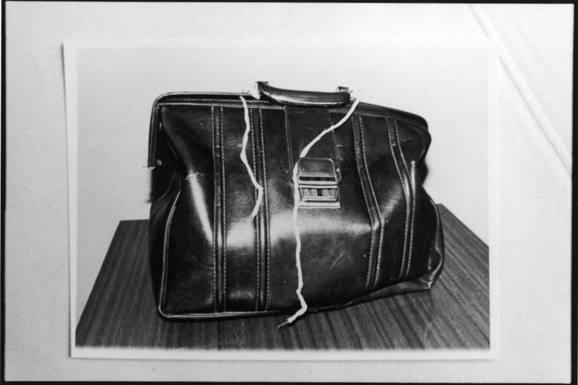 Andrej Csikatilo ebben a táskában vitte magával a gyilkos eszközeit.
