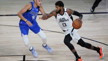 A Clippers megsemmisítette a Dallast, 43 ponttal verte
