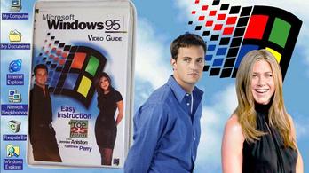 25 éve jött ki a Windows 95