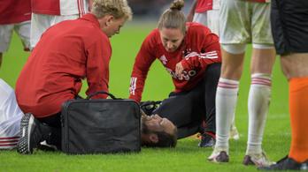 Leállt a defibrillátora, meccs közben esett össze a 69-szeres holland válogatott