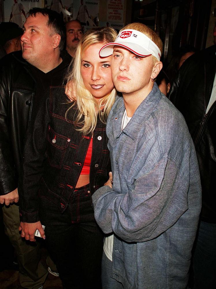 Végezetül következzék Eminem és Kim Mathers (mostani nevén Kimberly Ann Scott), akik kábé egy évtizedig alkottak egy párt