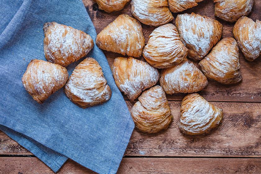 Isteni, ropogós sütemény Nápolyból: a sfogliatelle elképesztően finom