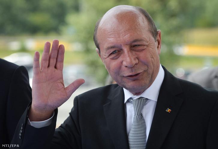 Traian Basescu 2014-ben.