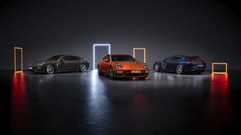 Porsche Panamera modellfrissítés statikus bemutató - 2020.