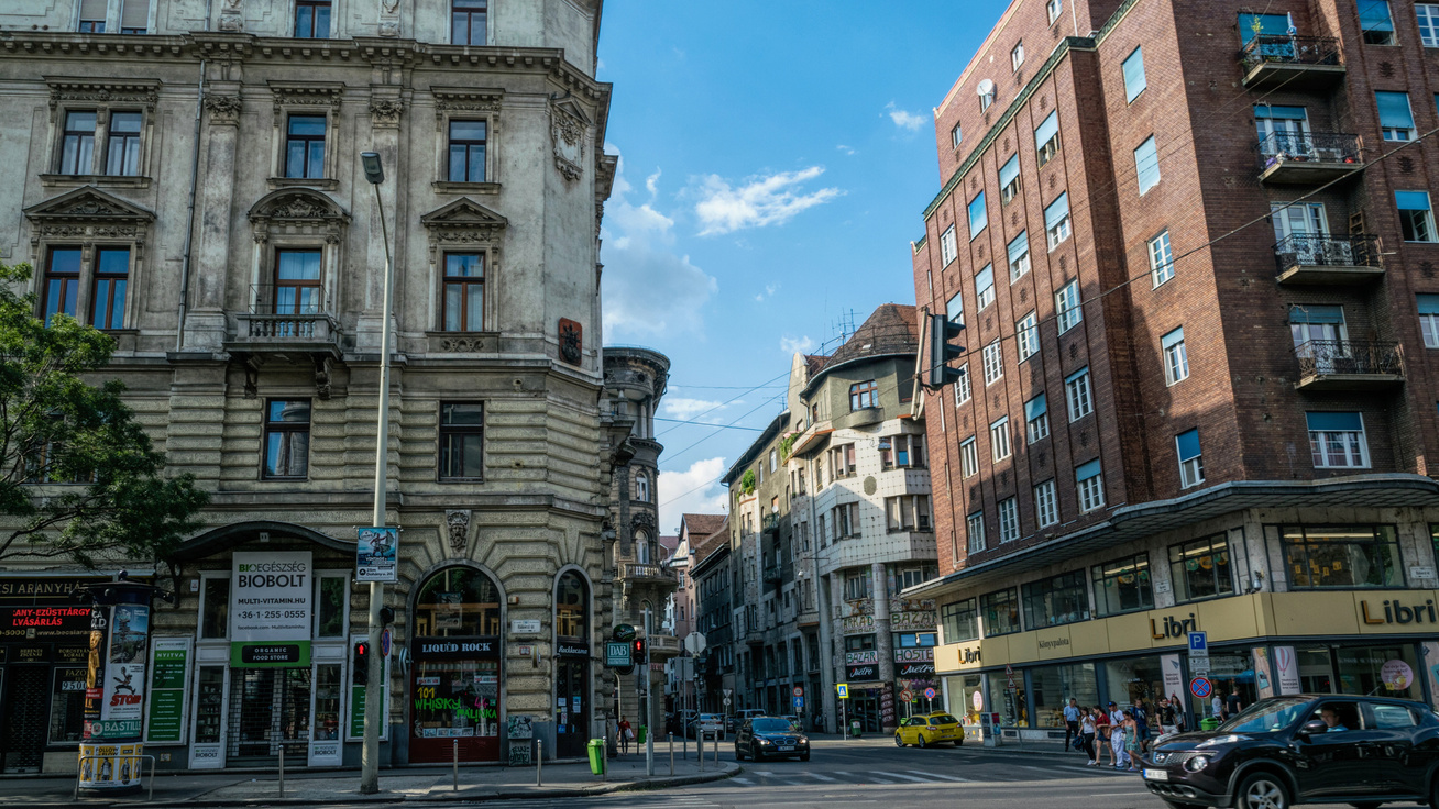 budapest házak belváros