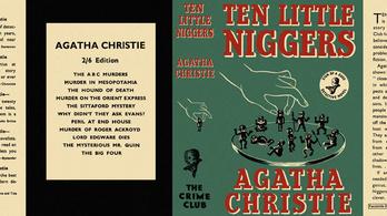 """Eltűnik az összes """"néger"""" szó Agatha Christie Tíz kicsi négeréből"""