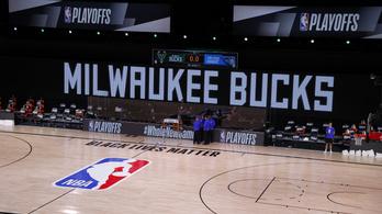 Bojkott az NBA-rájátszásban, a rasszista elnyomás ellen tüntetve nem jelent meg a meccsén a Milwaukee Bucks