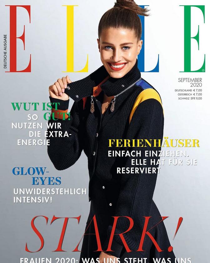 Bár lehet, hogy ön eddig semmit nem tudott a hölgyről, viszonylag híres modellnek számít, a legfrissebb német Elle magazin címlapján is ő tündököl.