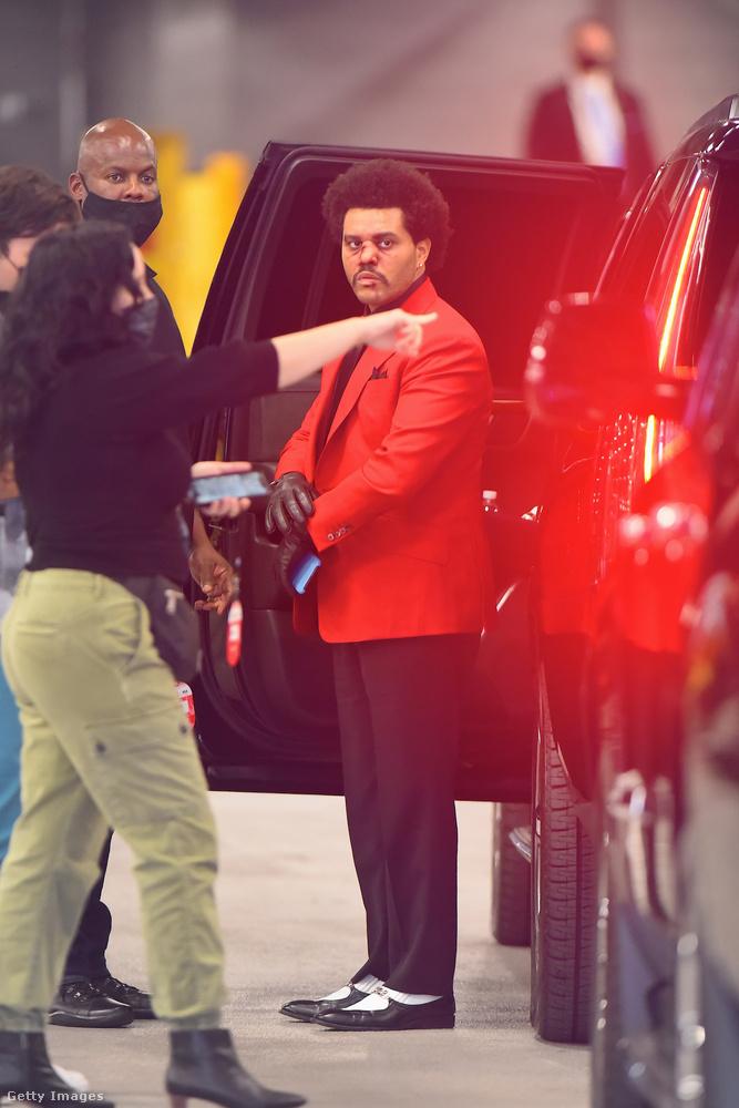 The Weeknd elég aggasztó küllemmel tűnt fel New Yorkban
