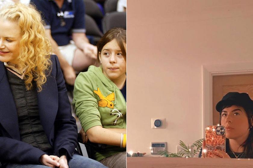 A bal oldali kép 2004-ben készült édesanyjával, a jobb oldalit pedig augusztus 26-án posztolta magáról.