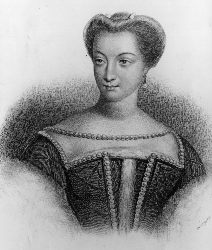 Diane de Poitiers egy későbbi metszeten.
