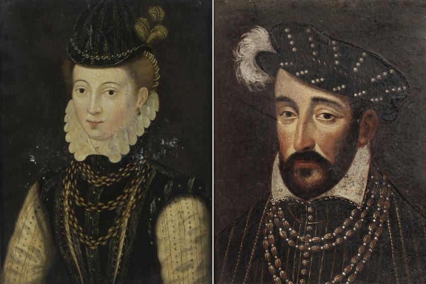Diane de Poitiers és II. Henrik francia király