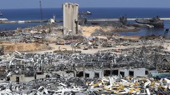 A robbanás után újra teljes üzemben működik a bejrúti kikötő