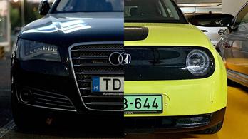Elektromos Hondát az A8-as Audi mellé?