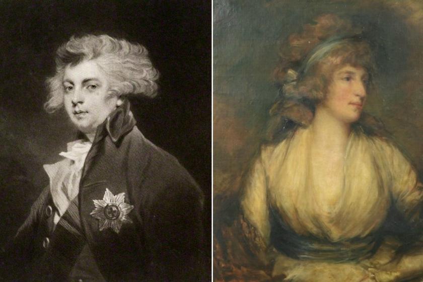 IV. György és Maria Fitzherbert