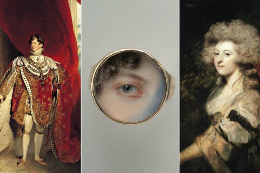 IV. György különös ajándéka törvénytelen feleségének: az ijesztő szemminiatúra a szerelem záloga lett
