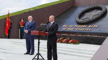Egymilliárd dollár adósság refinanszírozásáról állapodott meg Lukasenko és Putyin