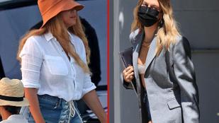 Beyoncé fűzős minishortot vett, Hailey Bieber olyat, ami eltűnik a zakója alatt