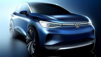 Gyári vázlatokon a Volkswagen ID.4
