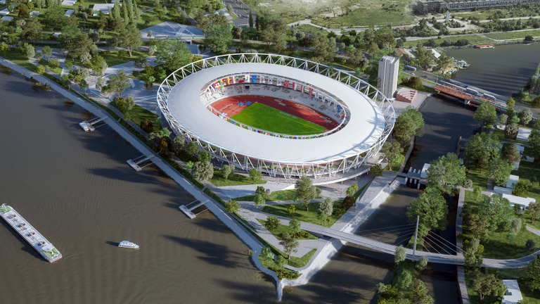 150 milliárdért építhetik a Mészáros-cégek a budapesti atlétikai stadiont