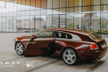 Kombit faragtak a Rolls-Royce Wraith-ből