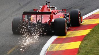 Katasztrofálisan kezdte a Ferrari a Belga Nagydíjat