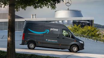 Mercedes villanyfurgon-fottát épít az Amazon
