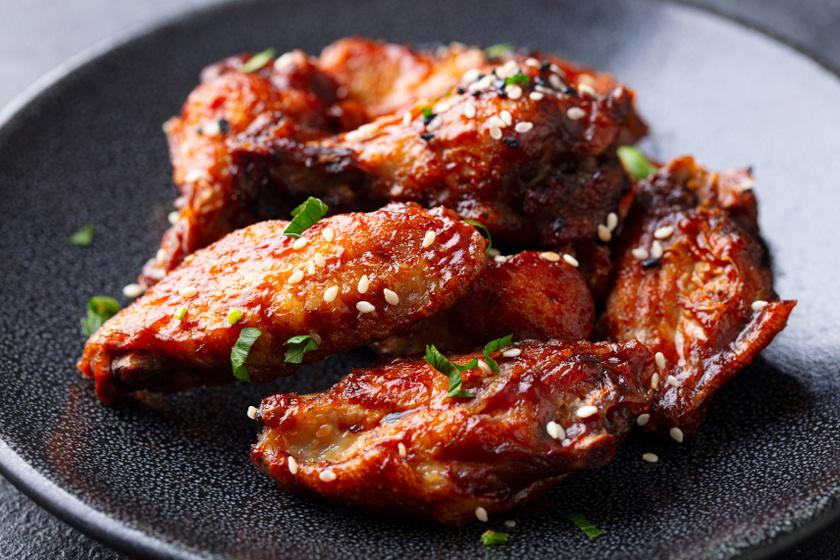 szójaszószos csirkeszárnyak recept