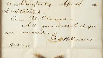 Most megveheti a merényletben meggyilkolt Abraham Lincoln véres hajtincsét