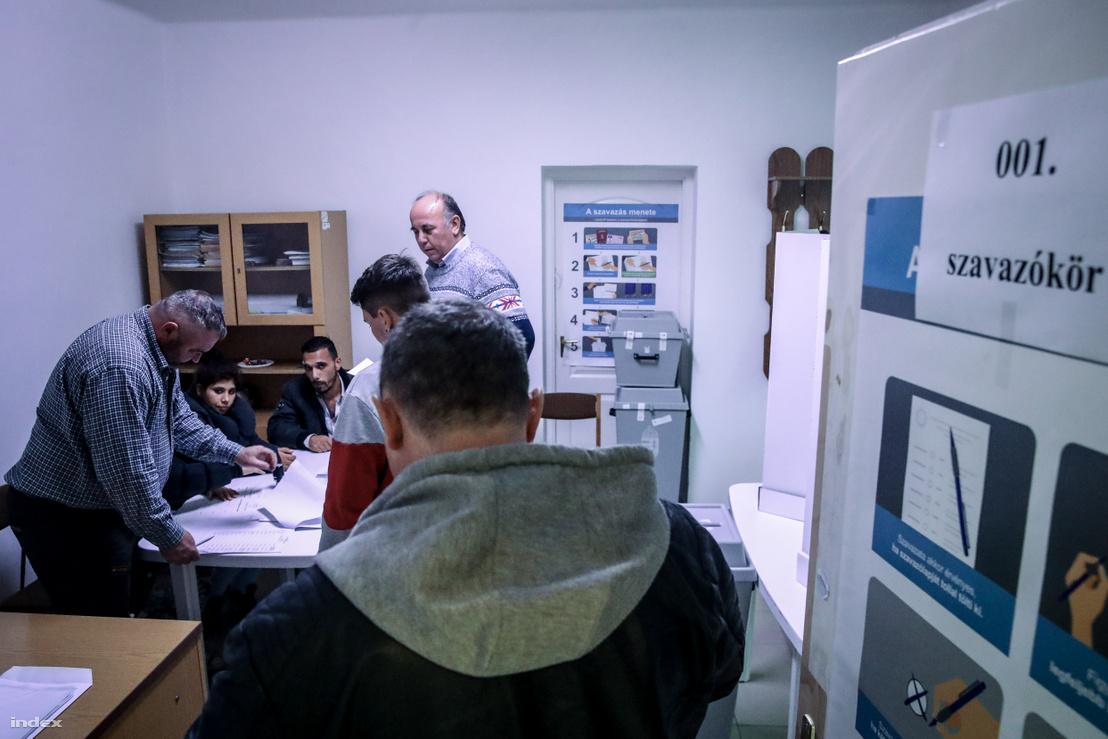 Megismételt önkormányzati választás Nyéstán 2019. november 10-én.