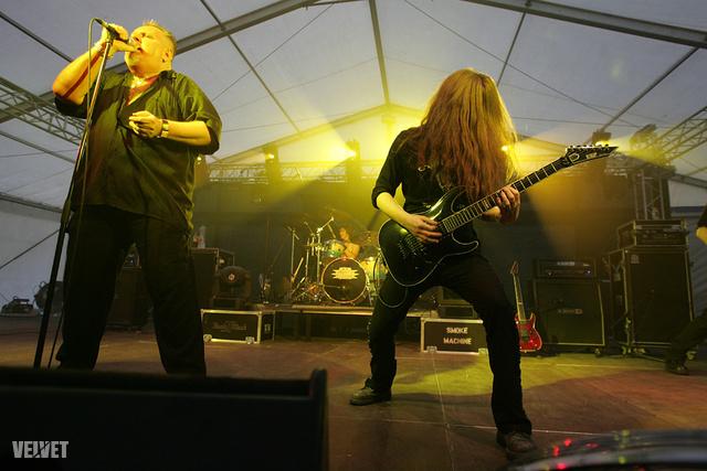Az Ossian fellépése a 2010-es VOLT fesztiválon