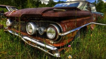 Rozsdásodó autó garanciaidőn belül