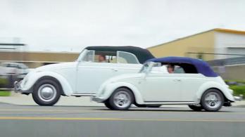Megdöbbentő látvány az óriás-Volkswagen