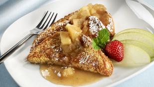 Almás francia pirítós – dobd fel egy kevés egészséges gyümölccsel a reggelit!