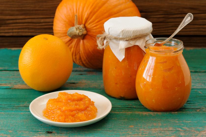 narancsos sütőtökdzsem recept