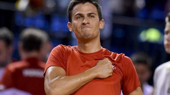 Balázs Attila az első körben búcsúzott a US Opentől