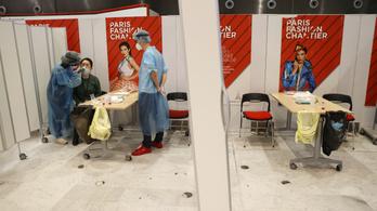 Koronavírus - Megnyíltak Párizsban az ingyenes teszthelyek