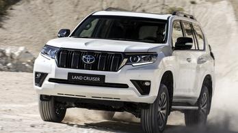 Erősebb és takarékosabb lesz a Toyota Land Cruiser