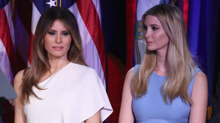 Blokkold a hercegnőt! Melanie Trump és Ivanka Trump elkeseredett hatalmi harca