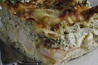A lasagne egész különleges szintre emelve – Próbáld ki hús helyett tenger gyümölcseivel sütve