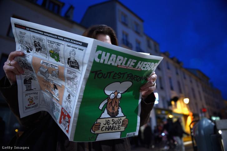 Charlie Hebdo 2015. január 24-i száma